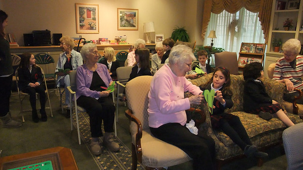 1F Visits Spring House Estates