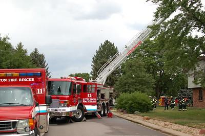 Green Oaks Lightning Strike Fire