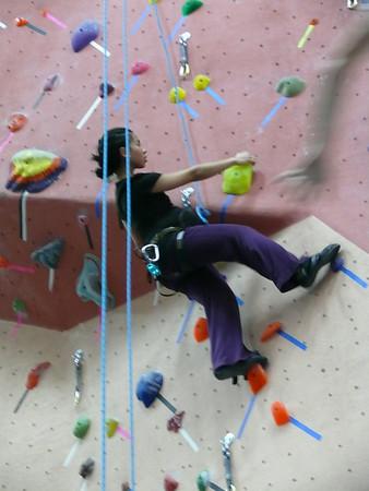 40 Week Visit to EarthTreks Climbing Gym