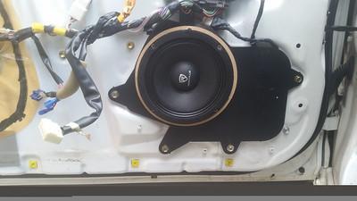 2003 Lexus GS300 Sport Design Front Door Speaker Installation - USA