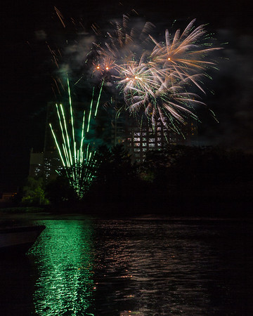 Wilmington Riverfront Fireworks 2015
