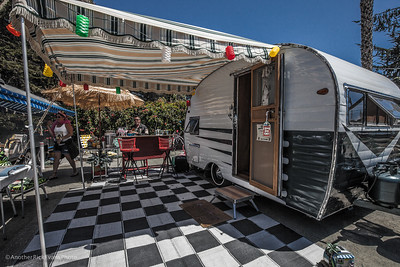 Vintage Trailers in Pismo Beach 2016
