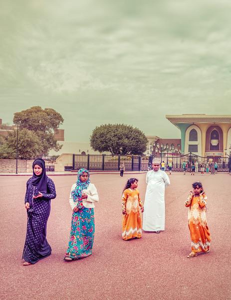 Family Visit in Oman