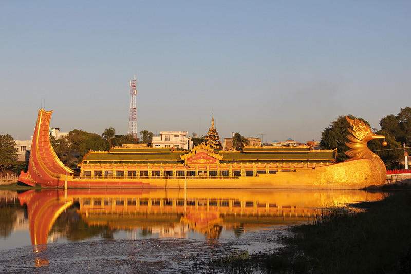 golden restaurant boat, meiktila