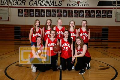 Bangor girls' basketball GBB1819