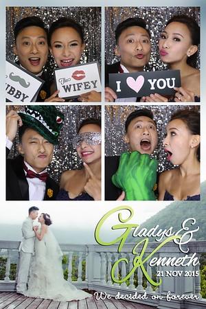 Gladys & Kenneth Wedding 21 November 2015
