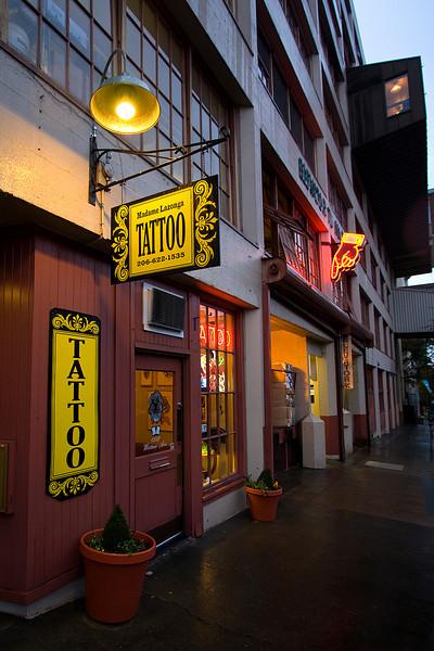 Seattle is full of little shops.