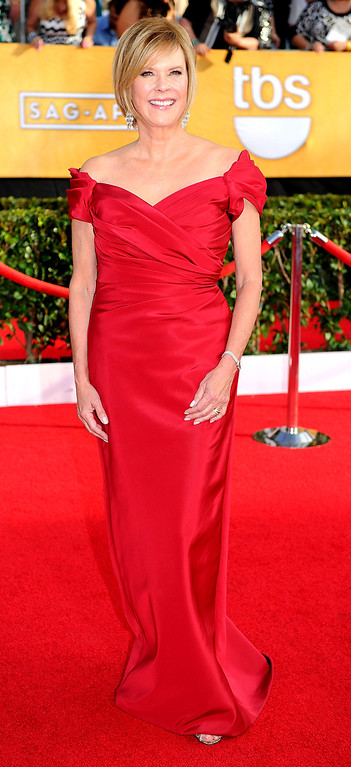 . JoBeth Williams arrives at the 20th Annual Screen Actors Guild Awards  at the Shrine Auditorium in Los Angeles, California on Saturday January 18, 2014 (Photo by Michael Owen Baker / Los Angeles Daily News)