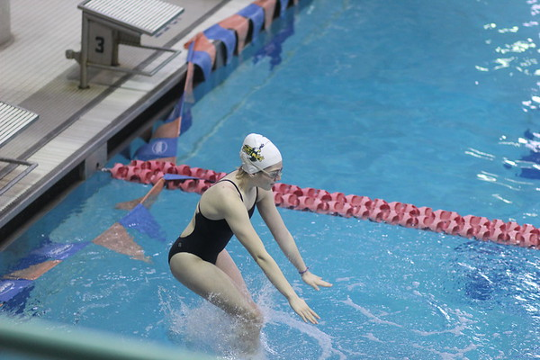 SV Girls and Boys swim vs. Gaithersburg HS 12-1-2018