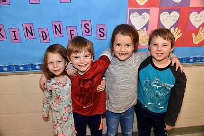 Kindergarten Tries A Little Kindness photos by Gary Baker