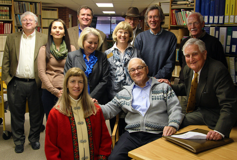 UAH Archive visitors and staff: