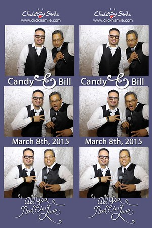 Bill and Candy 2015