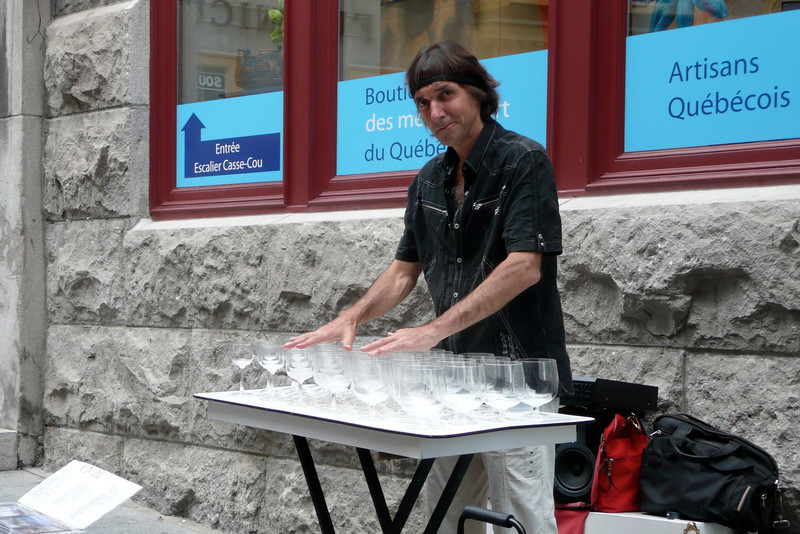 Street Artist. Quebec City