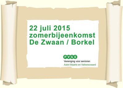 2015-0722 PVGE zomerbijeenkomst