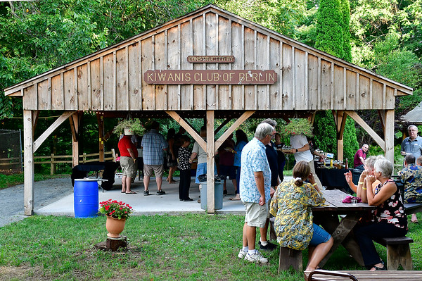 7/27/2019 Mike Orazzi | Staff The Hungerford Nature Center's Beer in the Woods event Saturday evening.