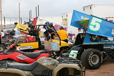 El Paso Speedway Park - April, 2009