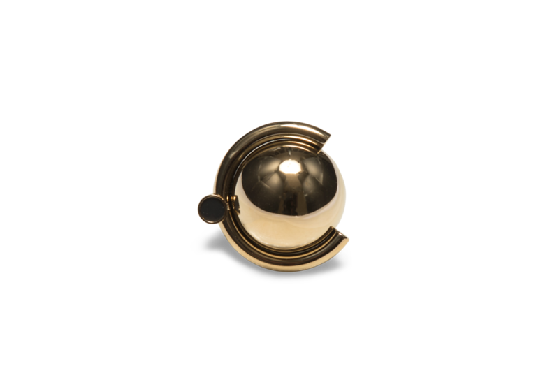 Sattelite Golden R4 Ring