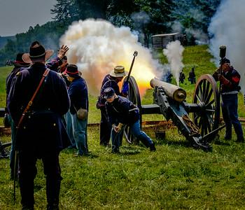 Civil War Reenactment - Boscobel 2014