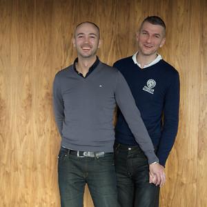Thuis bij… Michel Jansen & Jack van Dijk