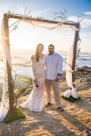 La Jolla Beach Wedding 92037 - Windansea Sunset AH