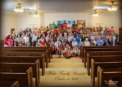 White Family Reunion 2013