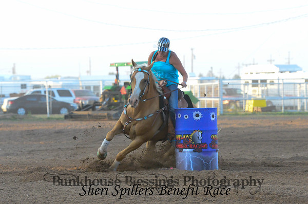 Sheri Spillers Benefit Race ~ OPEN 2nd Barrel