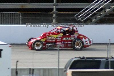 USAC Sprint Cars at RIR - 6/29/07