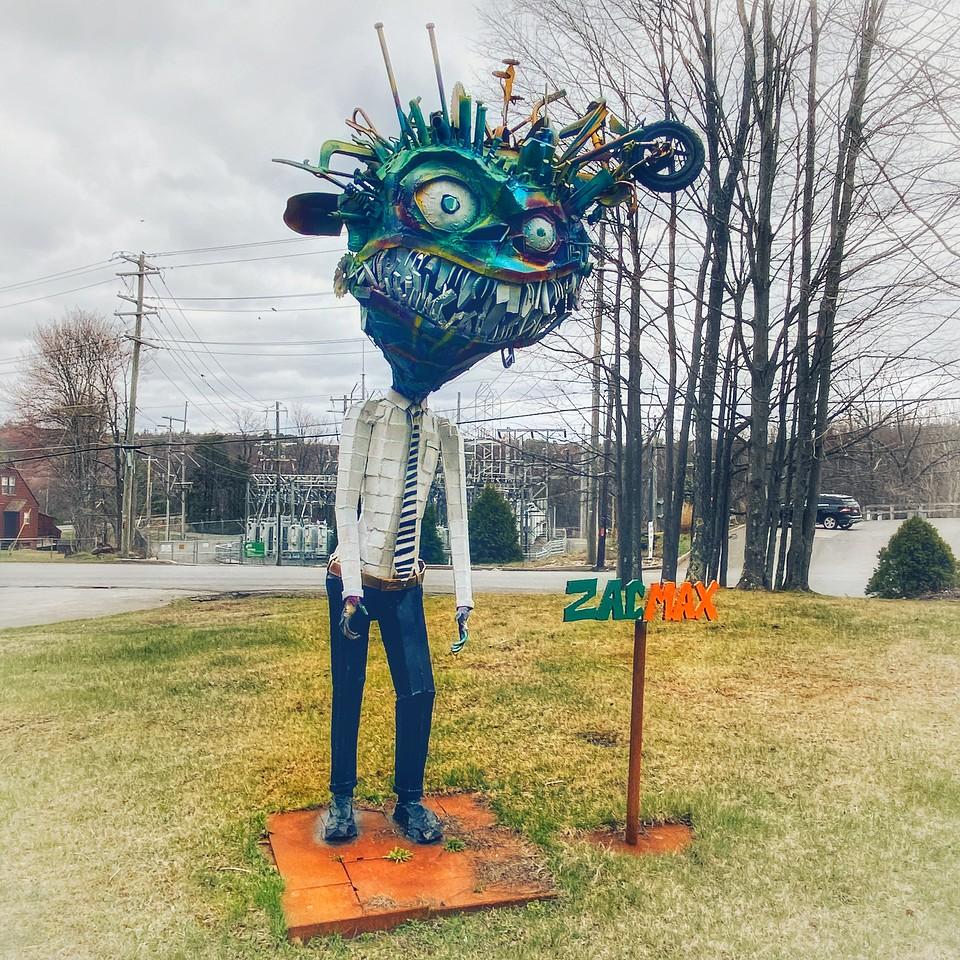 zacmax sculpture rock hill new york