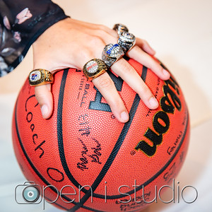 2018 Girls Varsity Basketball Ring Ceremony