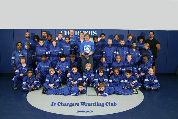 Jr Chargers Wrestling Club 2009-2010