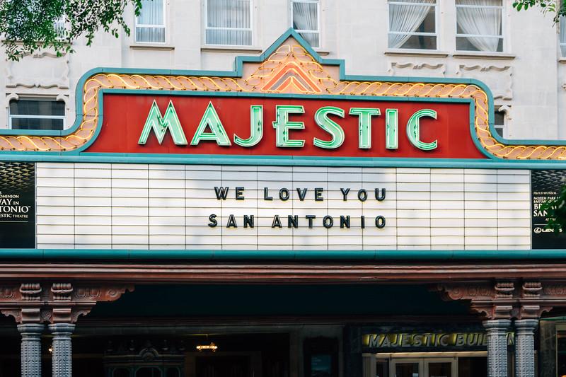 We Love you San Antonio Majestic Sign.jpg
