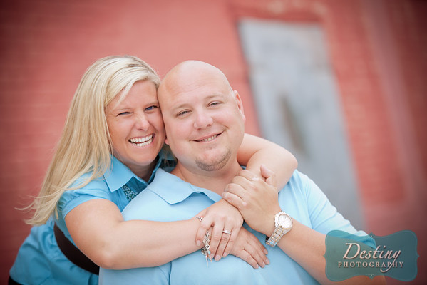 Brad and Tiffany's Engagement Pix