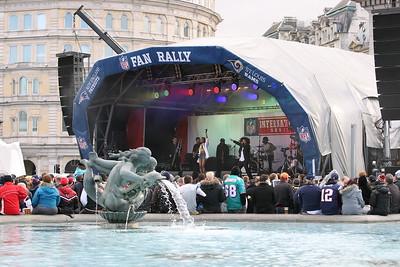 2012 - Trafalgar Square Fan Rally