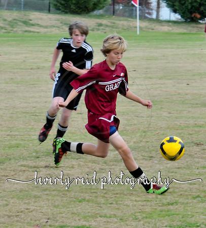 2010 111810 Grace vrs. St Jude (MS Soccer Boys)