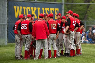 Hawks vs. Wickliffe 2 5-13-13