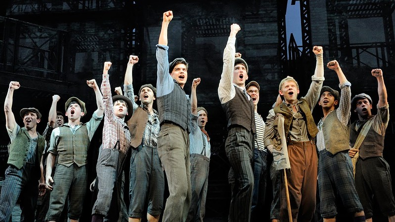 NEWSIES: The Broadway Musical will seize the day once again at the El Capitan Theatre