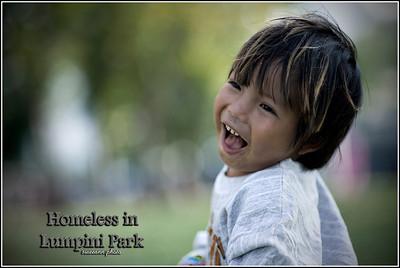 Homeless in Lumpini Park