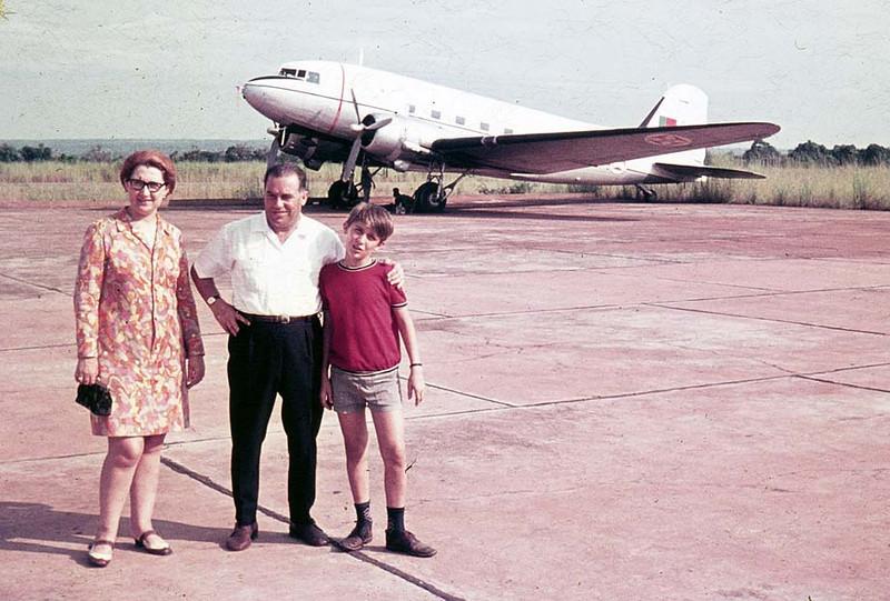 Chitato - Dakota - DC-3 Casal Adalberto e filho Beka