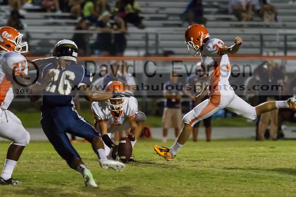 Boone Junior Varsity Football #33 - 2013