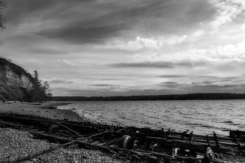 Shipwreck on Henderson Bay
