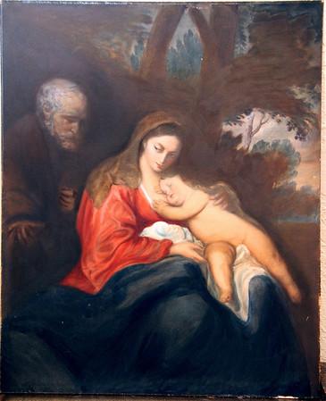 Joseph, Mary, & Baby Jesus