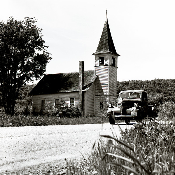 48661860_Church and truck Wisc