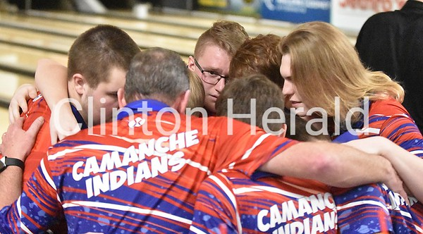 Camanche, Central DeWitt state bowling 2020