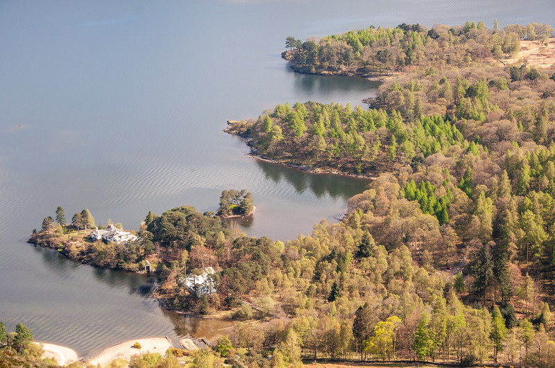 Brandelhow Point in Derwent Water