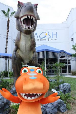Buddy at MOSH (WJCT Kids Club)