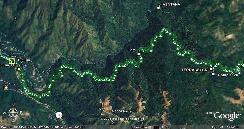 Big Sur - Pine Ridge Trail Nov 2006