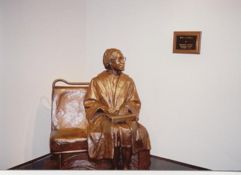 Rosa Parks Statue - Bob Durkee