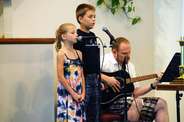 September 2, 2012 Worship Service