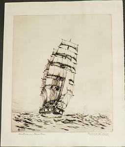 Frederick L. Owen, Artist, Etchings