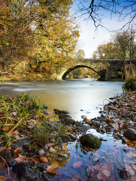 River Brathay and autumn trees in the #LakeDistrict